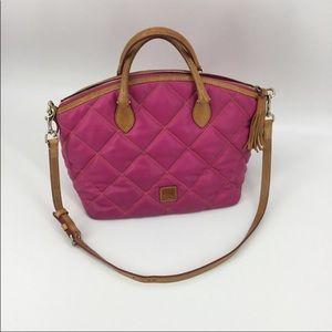 Dooney and Bourke pink satchel